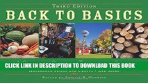 [READ] EBOOK Back to Basics: A Complete Guide to Traditional Skills, Third Edition BEST COLLECTION