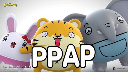 PPAP cover by Zoovivor cartoon animation