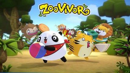 Zoovivor cartoon animation | ABC The Alphabet Song