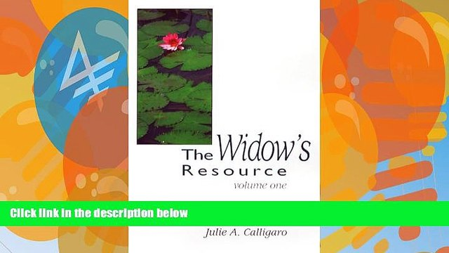 Big Deals  The Widow s Resource: Volume One How to Solve the Financial and Legal Problems That