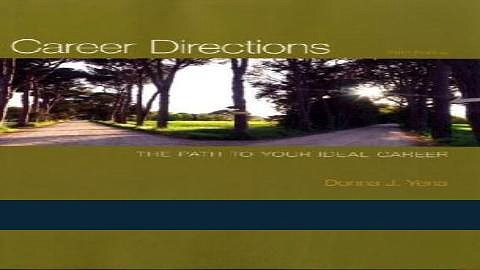[READ] EBOOK Career Directions: The Path to Your Ideal Career BEST COLLECTION