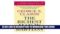 [FREE] EBOOK The Richest Man in Babylon BEST COLLECTION