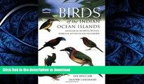 FAVORIT BOOK Birds of the Indian Ocean Islands: Madagascar, Mauritius, Réunion, Rodrigues,