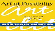 [FREE] EBOOK The Art of Possibility: Transforming Professional and Personal Life BEST COLLECTION
