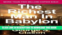 [READ] EBOOK The Richest Man in Babylon: Now Revised and Updated for the 21st Century (Paperback)