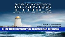 [FREE] EBOOK Managing Business Ethics: Straight Talk about How to Do It Right BEST COLLECTION