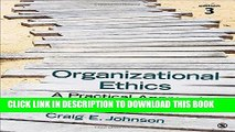 [READ] EBOOK Organizational Ethics: A Practical Approach BEST COLLECTION