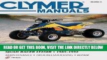 [READ] EBOOK Suzuki Quad Racer LT250R (Clymer Manuals: Motorcycle Repair) ONLINE COLLECTION