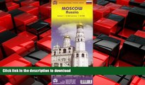 READ THE NEW BOOK Moscow Russia 1:12,500 Travel Map (International Travel City Maps: Moscow) READ