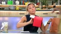 """Le cadeau de Black M dans """"C à vous"""" met Anne-Sophie Lapix dans tous ses états ! Regardez"""
