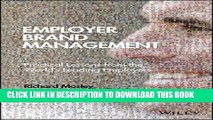 [PDF] Employer Brand Management: Practical Lessons from the World s Leading Employers [Full Ebook]