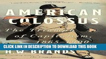 [PDF] American Colossus: The Triumph of Capitalism, 1865-1900 Popular Online