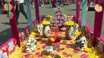 A Mexico, une journée des morts pleine de couleurs