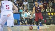 FCB Bàsquet: Navarro y Claver hablan del duelo de la ACB entre el FC Barcelona Lassa i el Real Madrid.