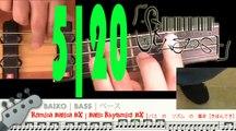 Basic Rhythmic BX 5   Rítmica Básica BX 5   五 : ベース の リズム の 基本[きほん]