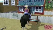 Барби на русском Приключения на ранчо ИГРА для детей, для девушек Прохождение new года Серия 6