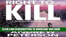 Ebook Right to Kill: Nathan McBride, Book 6 Free Download