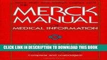 Best Seller The Merck Manual of Medical Information (Merck Manual Home Health Handbook (Quality))