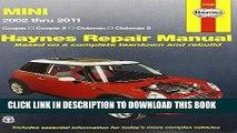 [Free Read] Mini Cooper, Cooper S, Clubman   Clubman S: 2002 Through 2011 (Haynes Repair Manual)