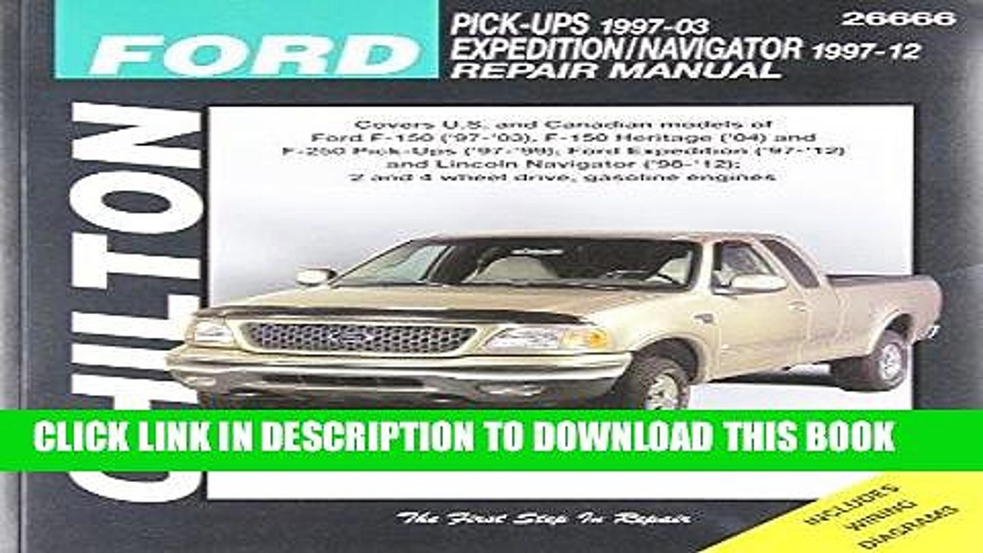 [Free Read] Chilton Total Car Care Ford F-150 ( 97- 03), F-150 Heritage ( 04), F-250 ( 97- 99),