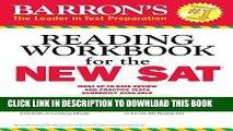 Best Seller Barron s Reading Workbook for the NEW SAT (Critical Reading Workbook for the Sat) Free
