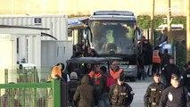 Départs massifs des migrants mineurs de l'ex-«jungle» de Calais