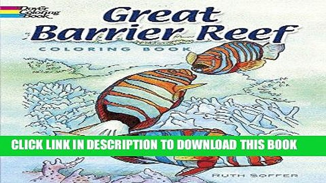 Best Seller Great Barrier Reef Coloring Book (Dover Nature Coloring Book) Free Read