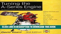 [Free Read] Tuning the A-Series Engine: The Definitive Manual on Tuning for Performance or Economy