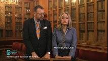 Madame Francoise HECQUET et Monsieur Frédéric FORGUES, candidats au Conseil de l'Ordre