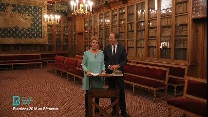Monsieur Olivier COUSI et Madame Nathalie RORET, candidats au Bâtonnat et vice-Bâtonnat