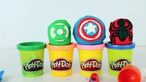 Play Doh Superheroes Kinder Surprise Eggs Kinder Toys & Nestle Magic Ball Spiderman, Green Lantern