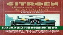 [PDF] Citroen Traction Avant: Gold Portfolio 1934-1957 Full Collection