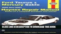 [PDF] Ford Taurus   Mercury Sable 1996-2001 (Haynes Manuals) Full Collection