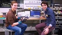 Des gants pour communiquer avec les sourds et muets - FUTUREMAG - ARTE