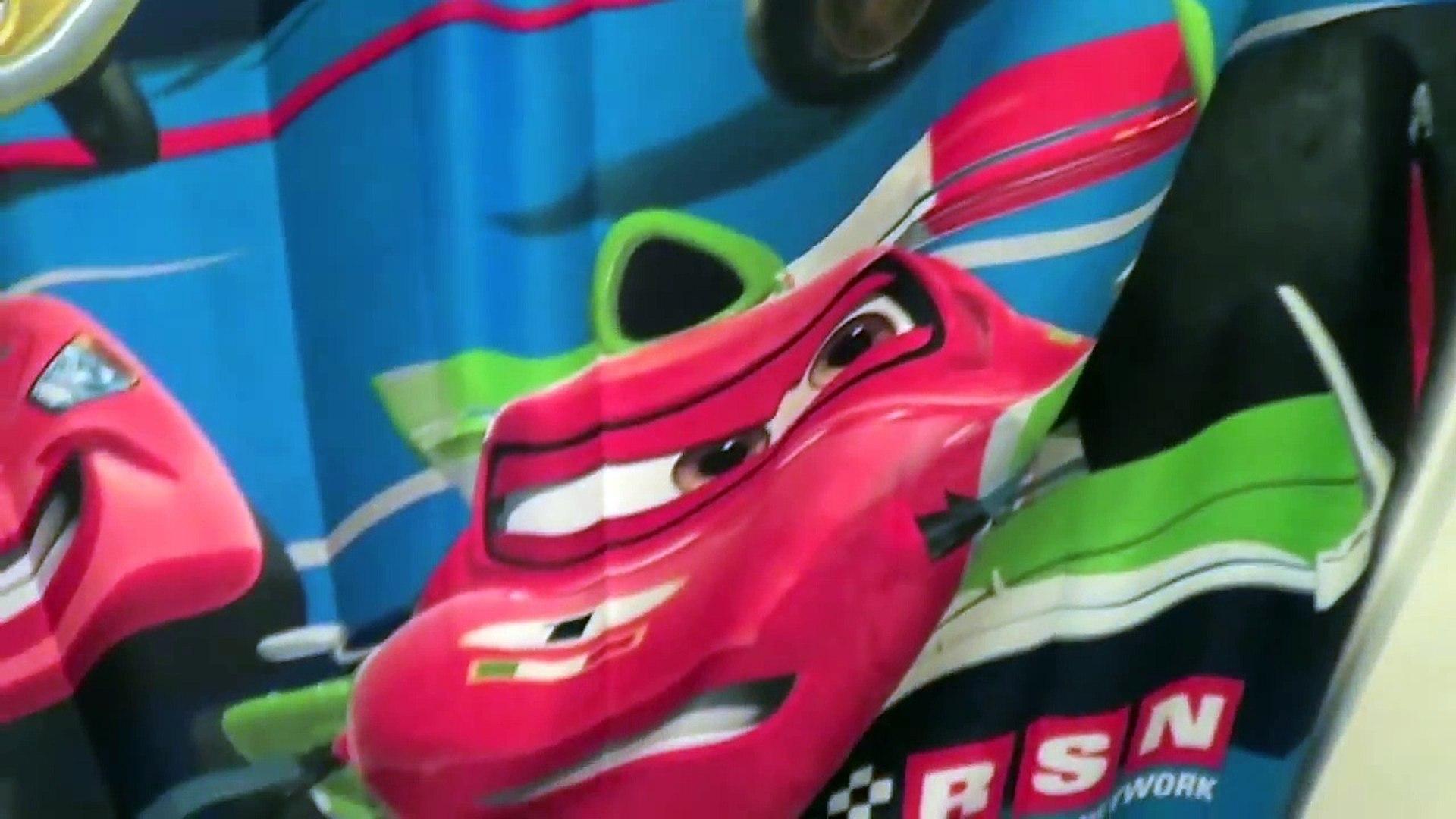 Disney Cars Themed Bathroom Cars Hydro Wheels, Cars Bath Toys, Cars Shower Curtain
