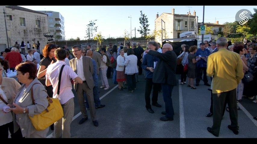 Inauguration Espace Simone Signoret