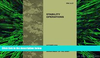 different   Field Manual FM 3-07 Stability Operations October 2008
