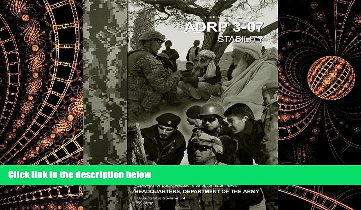 Army Doctrine Publication ADRP 3-07     Stability     August 2012