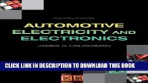 [PDF] Automotive Electricity and Electronics (4th Edition) (Automotive Systems Books) Full