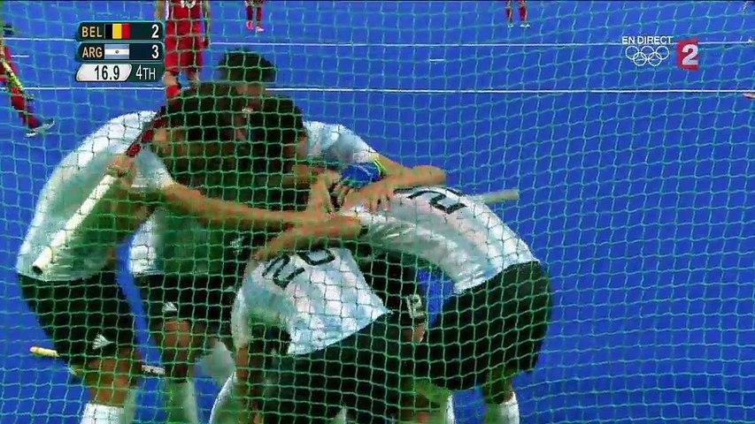 Hockey/Gazon - Rio 2016 - Finale Argentine / Belgique