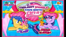Twilight Sparkle Gave Birth Twins - My Little Pony Games For Kids