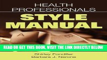 [FREE] EBOOK Health Professionals Style Manual BEST COLLECTION