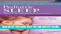 [FREE] EBOOK A Clinical Guide to Pediatric Sleep: Diagnosis and Management of Sleep Problems