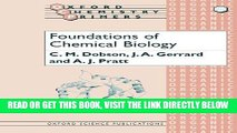 [FREE] EBOOK Foundations of Chemical Biology (Oxford Chemistry Primers) ONLINE COLLECTION
