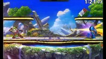Mega Man Vs Link and more - Super Smash Bros 3DS Demo Gameplay