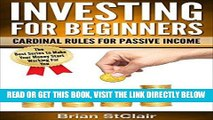 [Free Read] Investing for Beginners: Cardinal Rules for Passive Income (Investment, Investing,