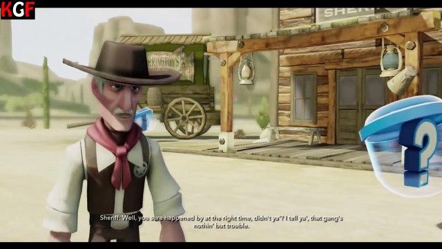 LONE RANGERS DISNEY MOVIE GAME - LONE RANGERS DISNEY INFINITY PART 1 EPISODE 1 HD