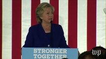 Clinton offers condolences to slain Iowa officers