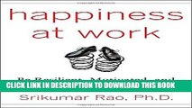 Best Seller Happiness at Work: Be Resilient, Motivated, and Successful - No Matter What Free