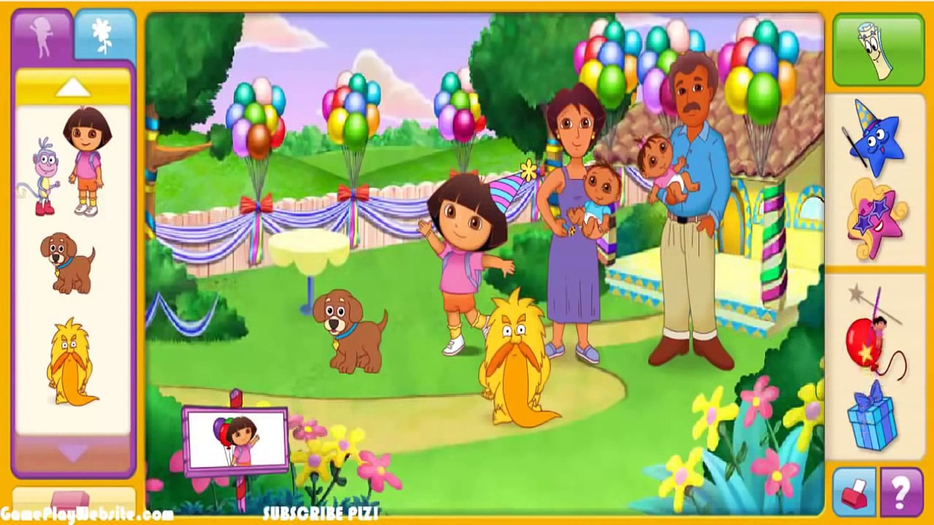 Dora lExploratrice en Anglais film complet de jeux et dessins animés #18# # Watch Play Games #